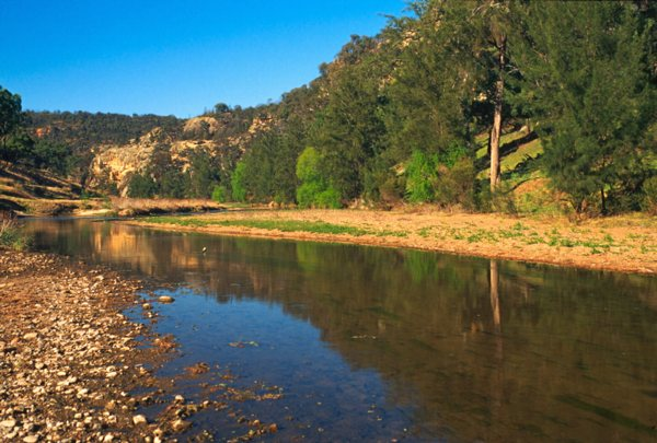goulburn river this is the goulburn river in nsw near denman not the